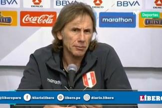 """Ricardo Gareca: """"El equipo tiene una respuesta increíble, son capaces de revertir cualquier situación"""""""