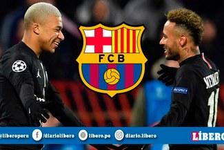 Barcelona analiza fichar a Mbappé en lugar de Neymar para enero