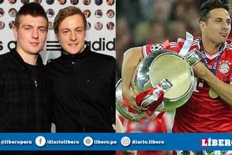 Kroos se rinde ante la leyenda de Claudio Pizarro en la Bundesliga