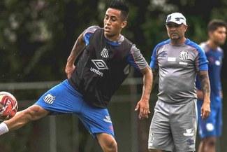 """Sampaoli y el por qué hizo jugar a Cueva ante Flamengo: """"Tuvimos algunas ausencias y optamos por él"""""""