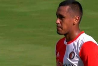 Renato Tapia: El curioso incidente que detuvo el Feyenoord-ADO por la liga holandesa [VIDEO]