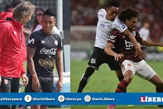 En Brasil revelaron por qué Christian Cueva volvió a jugar en Santos