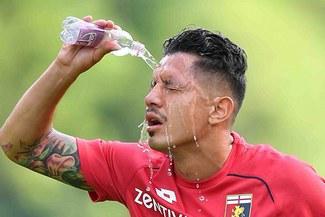 Gianluca Lapadula y el exorbitante salario que gana en el Lecce de la Serie A