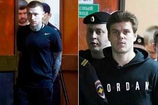 Alexandr Kokorin y Pável Mamáev salieron de prisión tras cumplir condena por agresión