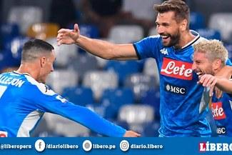Napoli venció 2-0 al Liverpool en su debut en de la Champions League [RESUMEN Y GOLES]