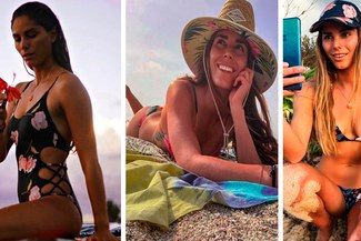 Surfista peruana Vania Torres alborota Instagram con sensuales fotografías [FOTOS]