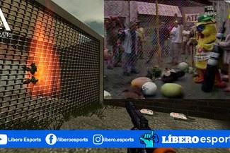Half Life | ¡Apanen al pollo! Crean mapa basado en sketch de Ate Vs La Molina