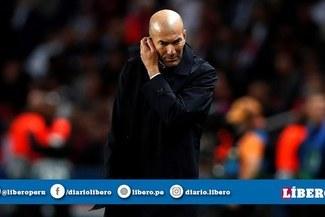 Real Madrid: Zidane obligado a ganar los próximos cinco partidos