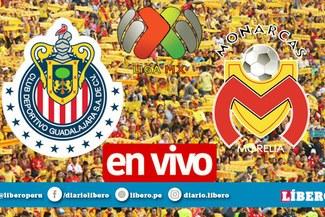 Chivas vs Morelia [Azteca EN VIVO] Ver gratis vía TUDN por Liga MX
