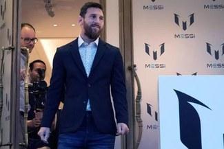 Lionel Messi presentó su línea de ropa en Barcelona inspirada en su vida [FOTOS]