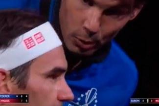 Laver Cup 2019: el imperdible discurso de técnico de Nadal a Federer | VIDEO