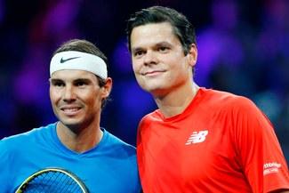 ¡Celebra Europa! Rafael Nadal derrotó a Milos Raonic por la Laver Cup