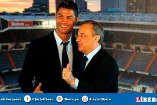 ¿Pega la vuelta? Florentino Pérez busca el regreso de Cristiano Ronaldo