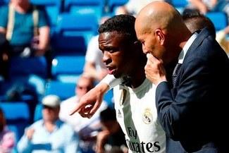 Vinicius Junior y otras estrellas que no quiere Zinedine Zidane en el Real Madrid [VIDEO]
