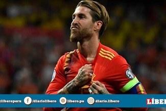 """Sergio Ramos tras récord con España: """"Sería bonito jugar los Juegos Olímpicos Tokio 2020"""" [VIDEO]"""