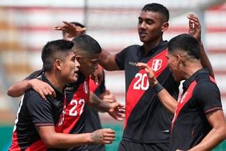 Perú con golazo de Quevedo, venció a Colombia en amistoso Sub 23 [RESUMEN Y GOLES
