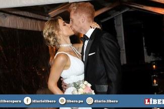 ¡Un final feliz! Martín Liberman se casó con Ana Laura López [VIDEO]