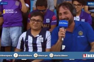 """¿Loco Wagner se mofa de hincha de Alianza?: """"Tu nombre es 'Esa U'"""""""