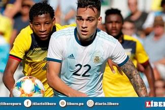 Argentina logró una marca goleadora de 15 años sin alcanzar ante Ecuador