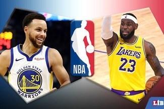 HOY, Warriors vs Lakers [Básquet NBA EN VIVO] Con LeBron en ESPN y TNT