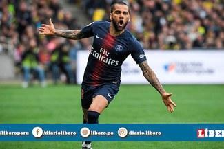 """Dani Alves no la pasó bien en el PSG: """"en París son unos p... racistas"""""""
