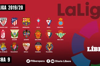 LaLiga Santander: Fecha 9, resultados EN VIVO y tabla de posiciones en España