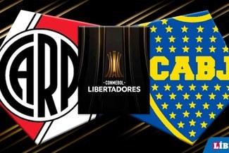 Rive vs Boca [EN VIVO Fox Sports] en La Bombonera semifinal vuela Copa Libertadores