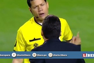 Copa Libertadores: Marcelo Gallardo increpó a Víctor Hugo Carrillo tras la clasificación de River Plate [VIDEO]
