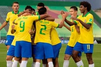Brasil venció goleó 4-1 Canadá  por el Grupo A del Mundial Sub-17