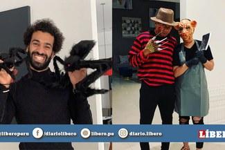 Halloween 2019: Futbolistas nacionales e internacionales se disfrazaron de divertidos personajes  [FOTOS]