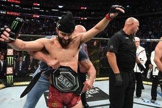 """UFC 244: ¡Con """"M"""" de Maldad! Masvidal primer campeón BMF tras vencer a Nate Diaz"""
