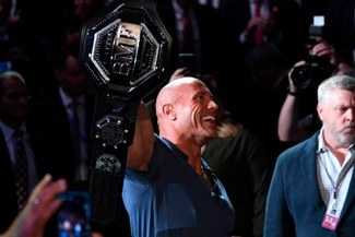 The Rock recibió sorprendente ovación del público en UFC 244 [VIDEO]