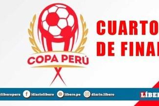 HOY Copa Perú 2019 EN VIVO: cuartos de final de la Etapa Nacional