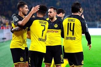 Dortmund remonta 3-2 al Inter en Alemania y el Grupo G se pone de candela [RESUMEN Y GOLES]