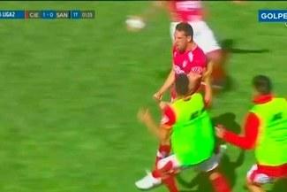 Cienciano vs Santos: El 1-0 de Breno Naranjo que hizo estallar el Cusco [VIDEO]