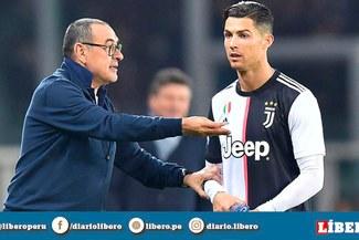 Gary Lineker elogió al Maurizio Sarri tras cambiar a Cristiano Ronaldo