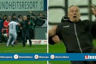 Jugador argentino empujó a DT rival y desató batalla campal en Bundesliga [VIDEO]