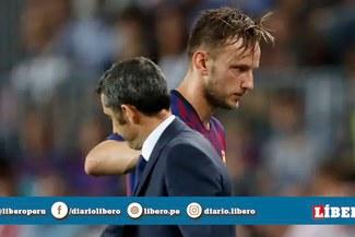 """Ivan Rakitic sobre Ernesto Valverde: """"Me siento triste, me han quitado la pelota"""" [VIDEO]"""