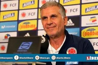 """Carlos Queiroz cambia de discurso y ahora dice que es """"un honor jugar contra Perú"""""""