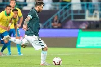 Argentina se quedó con el 'Superclásico' al vencer 1-0 a Brasil
