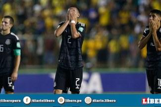 México cayó 1-2 frente a Brasil y quedó subcampeón del Mundial Sub-17