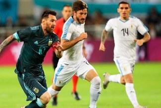 ¡Messi y Cavani anotaron! Argentina empató 2-2 con Uruguay en amistoso internacional