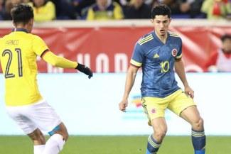 Colombia con gol de Mateus Uribe venció 1-0 a Ecuador en Amistoso Fecha FIFA   RESUMEN Y GOL