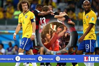 Hinchas de River Plate les recuerdan a los del Flamengo los siete goles de Alemania [VIDEO]