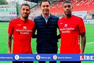 Sergio Peña titular y Miguel Araujo suplente en el empate de Emmen [VIDEO]