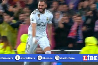 ¡Enchufado! Karim Benzema y su doblete para el 2-0 de Real Madrid vs. PSG [VIDEO]