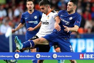 Chelsea empató 2-2 ante el Valencia por la penúltima fecha de la Champions League