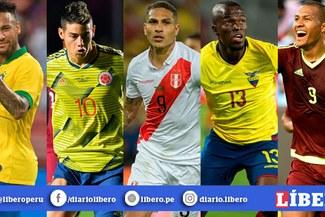 Copa América 2020: Los resultados de Perú frente a Brasil, Venezuela, Colombia y Ecuador [VIDEO]