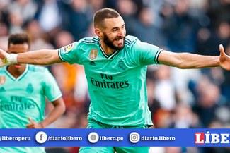 Con gol de Benzema, Real Madrid derrotó 2-0 al Espanyol y es líder momentáneo en LaLiga [RESUMEN Y GOLES]