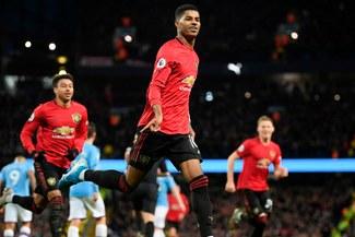 Manchester United venció 2-1 a Manchester City por el derby de la ciudad en la Premier League [RESUMEN]